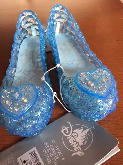 Zapatillas De Cenicienta Disney 16-17 Cm Originales -   749.00 en ... de3a14ad941b