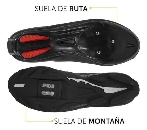 zapatillas de ciclismo para mtb montaña y ruta