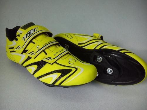 zapatillas de ciclismo ruta y mtb redius jc ergo 2