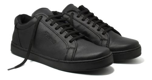 zapatillas de cuero fierros - art 10 - talle 46