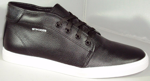 zapatillas de cuero hombre urbana marca stone precio off !!!