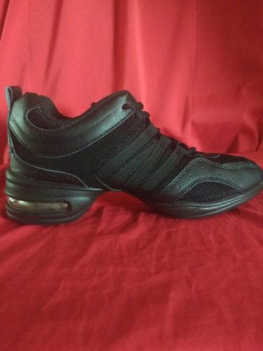 zapatillas de danza sport negras - talle 37½/38