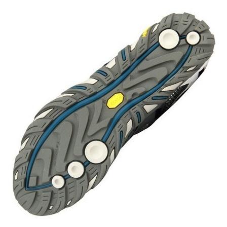 zapatillas de hombre merrell wilson - suela de 3 densidades