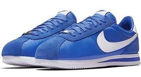 zapatillas nike cortez azul