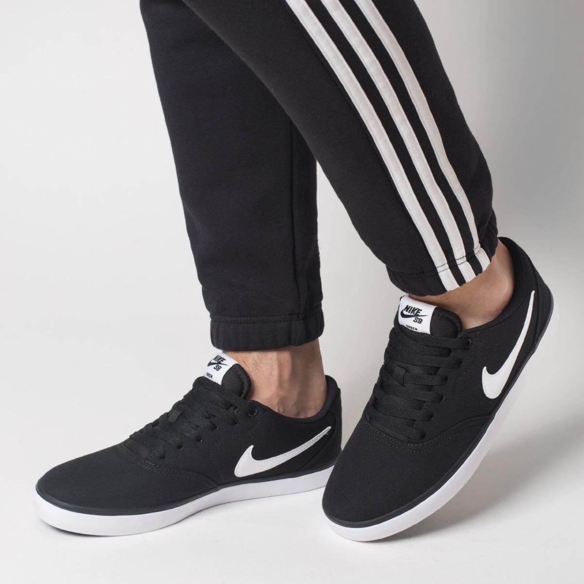 Zapatillas De Hombre Nike Sb Check Solar Cnvs Skate Nuevo
