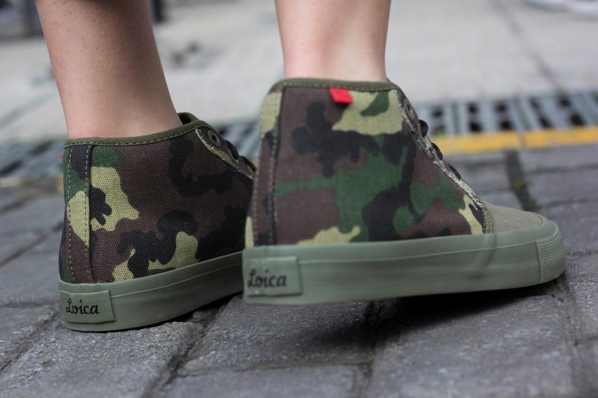Zapatillas De Hombre/mujer Loica Invert Camo Lona Tipo Vans ...