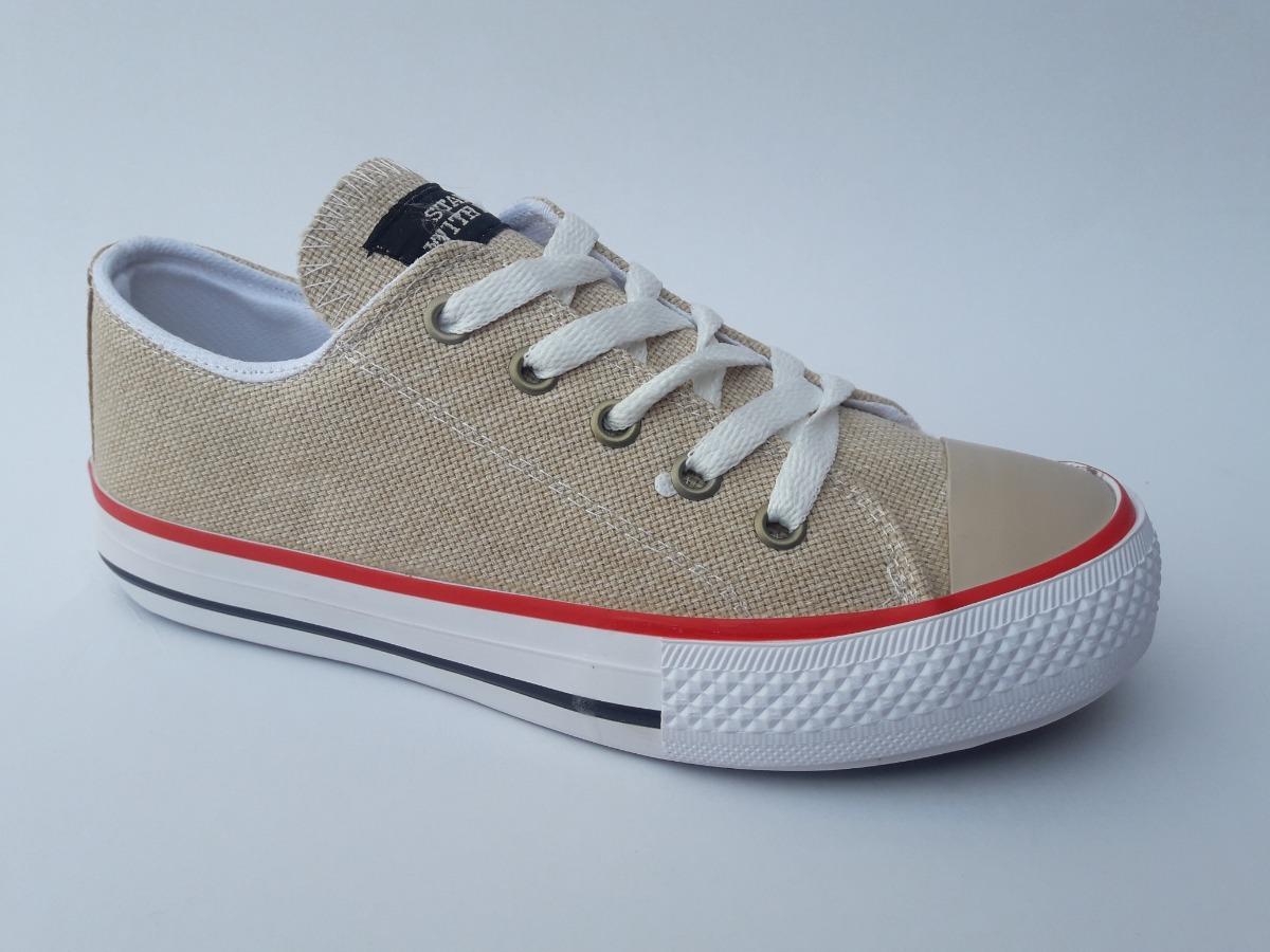 zapatillas tela converse
