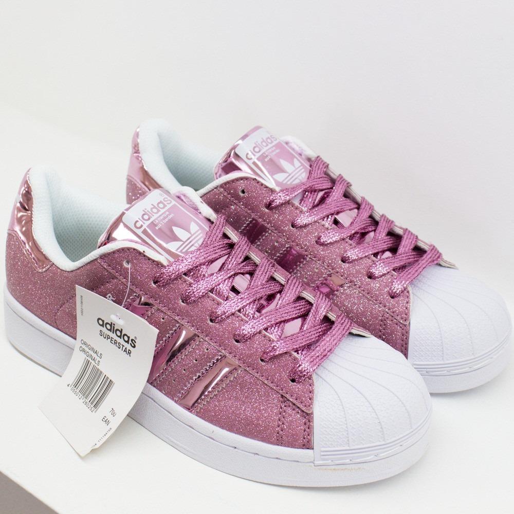 adidas superstar rosa mujer