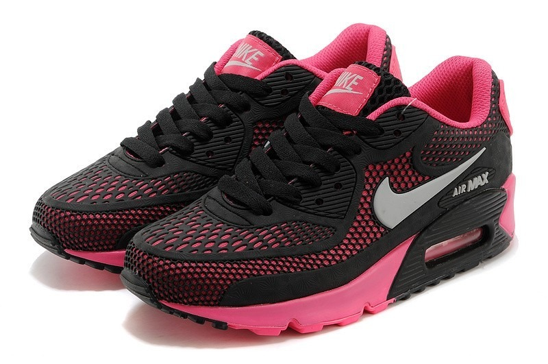 huge selection of c47ab bf2d7 ... order zapatillas de mujer nike air max 90 kpu negro rosa. cargando  zoom. 0383f