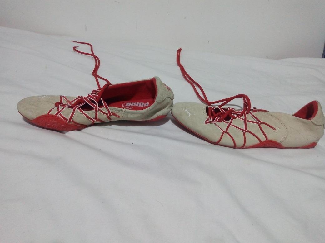 puma zapatilla mujer rojas