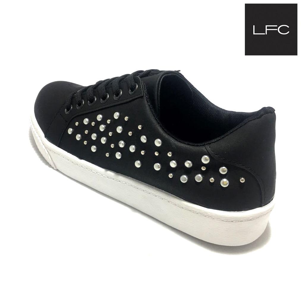 Zapatillas De Mujer Urbanas Con Tachas (54520)