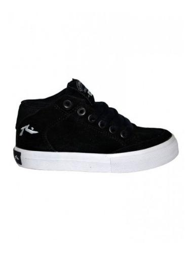 zapatillas de niño rusty andreuss black/white