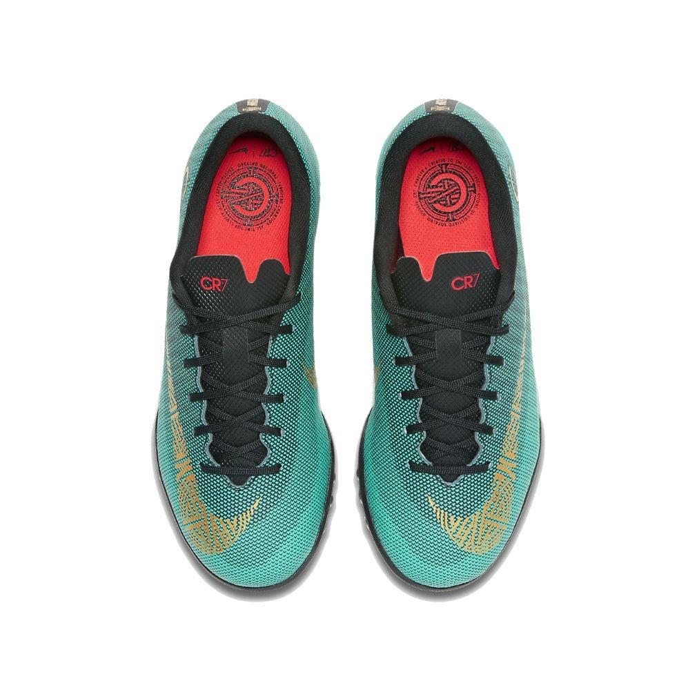 a6136fb3676f1 zapatillas de niños nike jr vapor x 12 academy cr7 tf nuevo. Cargando zoom.