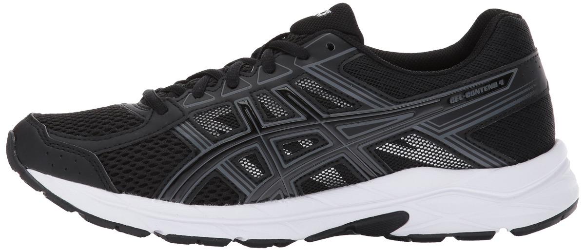 Zapatillas De Running Asics Gel contend 4 Para Mujer, Negro