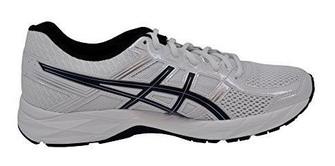 asics blancas running