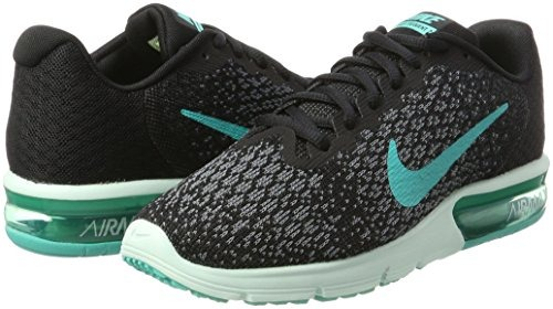 Zapatillas De Running Nike Air Max Sequent 2 Para Mujer, Neg
