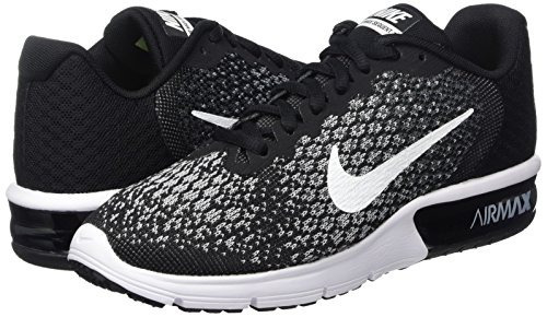 Zapatillas De Running Nike Air Max Sequent 2 Para Mujer Negr