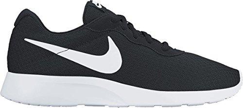 Zapatillas De Running Nike Tanjun Black White Para Hombre
