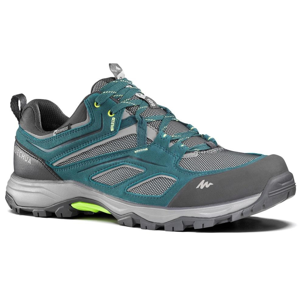 ecff8e625 zapatillas de senderismo montaña hombre mh100 impermeables. Cargando zoom.