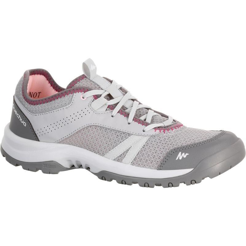d935858d5 zapatillas de senderismo naturaleza nh100 fresh gris rosa. Cargando zoom.