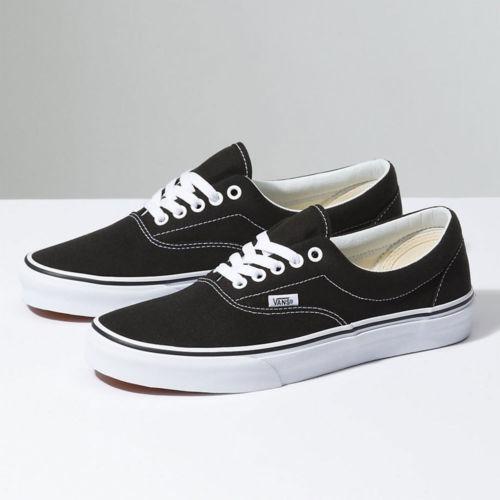 ce3b4798290424 Zapatillas De Skate Vans Era Classic Canvas Unisex Black Us ...