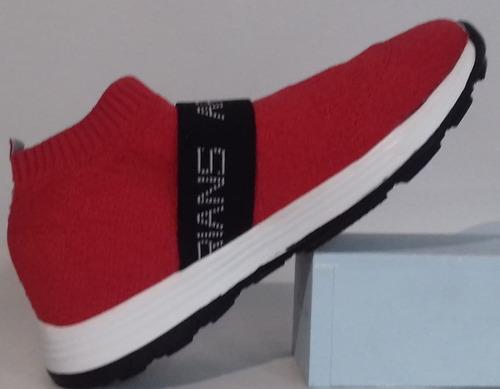 zapatillas de tela súper livianas con detalle del 34 al 40