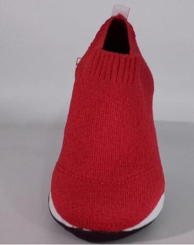zapatillas de tela supér livianas unisex del 34 al 40