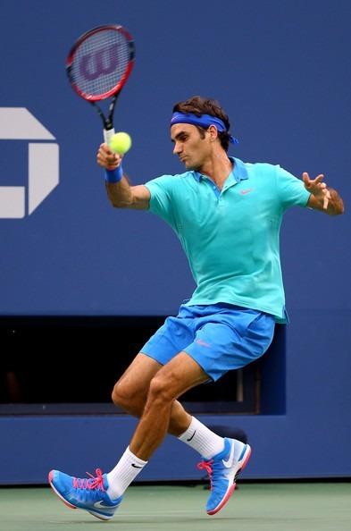 Us Tenis Nike Open Zapatillas Roger Federer Azul Nº7 2014 De 1UFfO