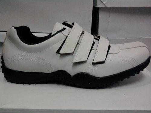 zapatillas de vestir 100% cuero vacuno con abrojos