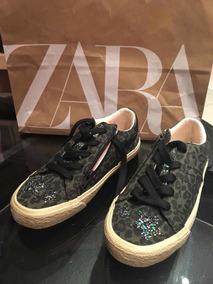 Zapatillas De Vestir Niña Zara Nuevas España Talle 32