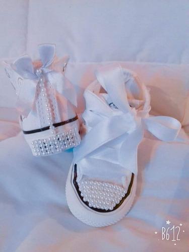 zapatillas decoradas por mayor  17 al 27