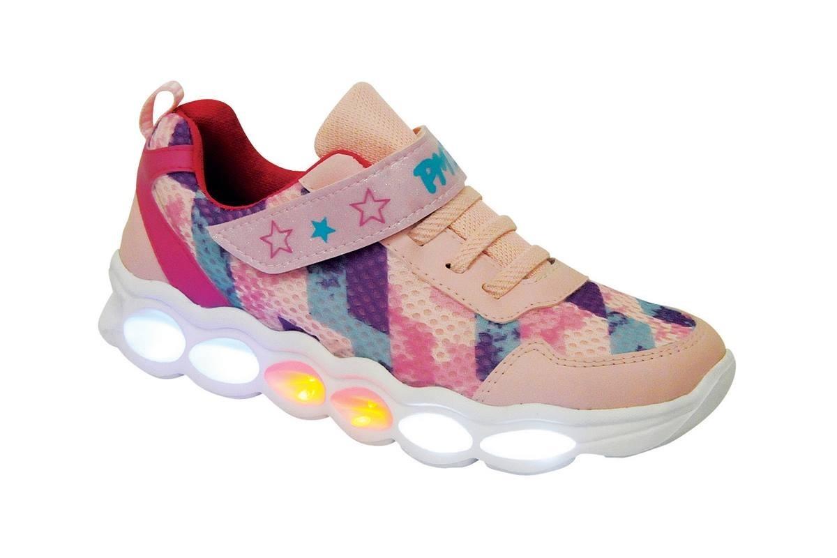 5a619d2e4 zapatillas deportiva con luces plumitas nena. Cargando zoom.