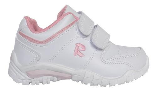 zapatillas deportivas colegiales rigazio con abrojo
