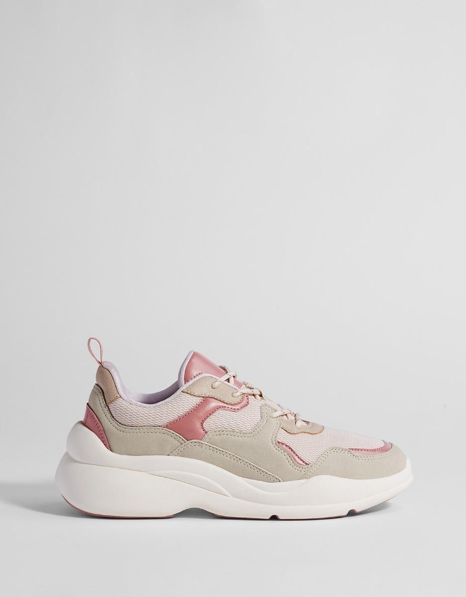 0c12687504 zapatillas deportivas plataforma combinadas dama bershka. Cargando zoom.