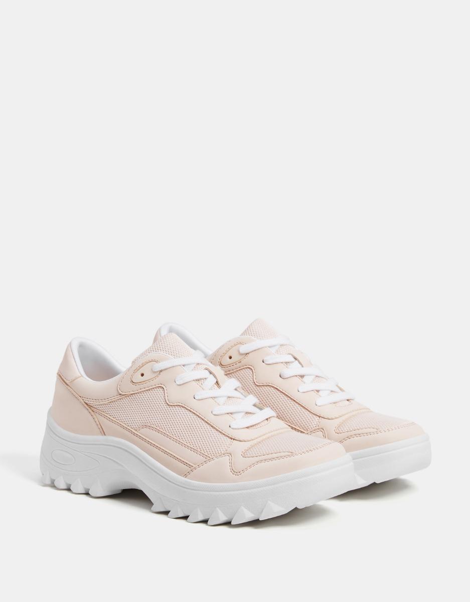 76f9a7a37f zapatillas deportivas rosas plataforma combinada dama. Cargando zoom.