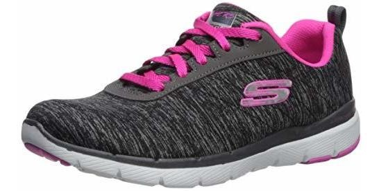 zapatillas deportivas de mujer skechers flex appeal de mujer