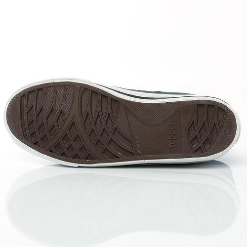 zapatillas derby + casual topper