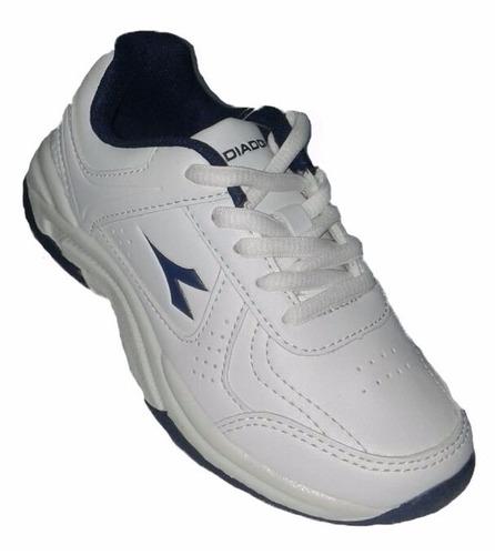 zapatillas diadora scuola niños tennis colegial todoarbitros