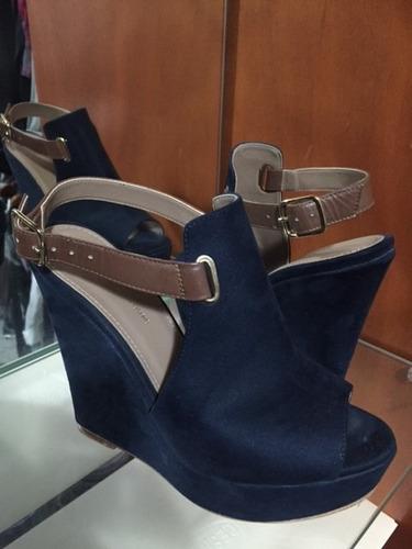 zapatillas diego torreblanca color azul numero 24