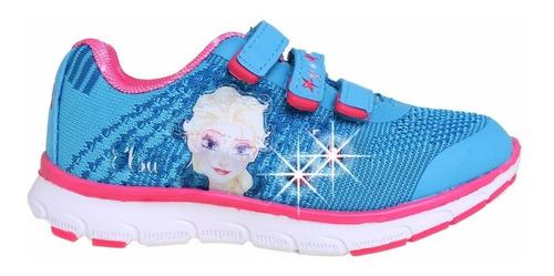 zapatillas disney frozen elsa luz addnice flex mundo manias