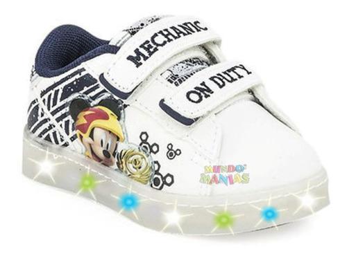 zapatillas disney mickey con multi luces addnice mundomanias