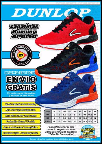 zapatillas dunlop running - nueva colección - envío gratis