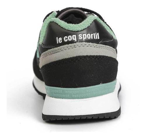 zapatillas eclat 90 jr negro kids le coq sportif