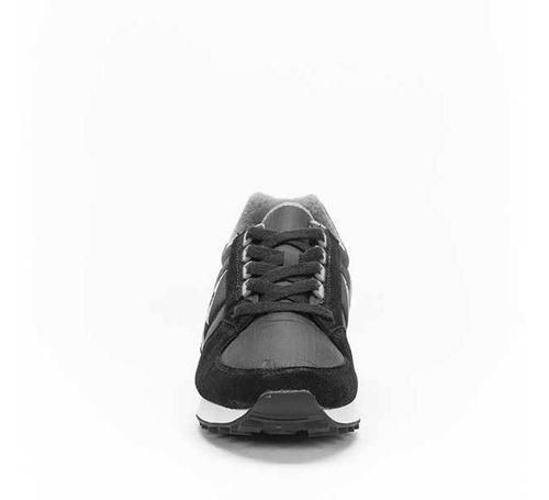 zapatillas eclat 90 n bicolor negro unisex le coq sportif
