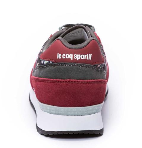 zapatillas eclat print n bordó mujer le coq sportif