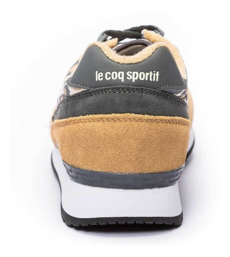 zapatillas eclat print n marron mujer le coq sportif