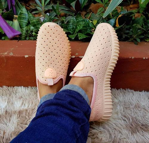 zapatillas elastizadas caladas importadas!