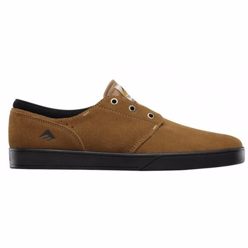 zapatillas emerica figueroa brown black