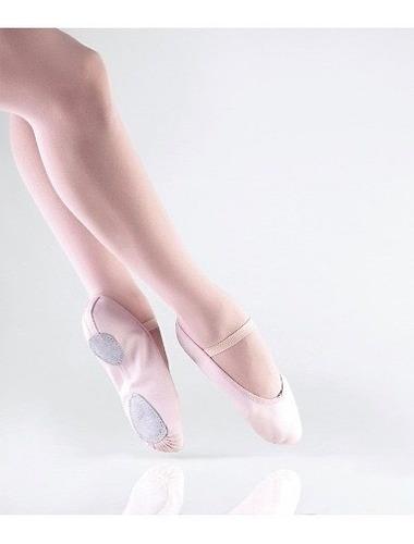 zapatillas ensayo de ballet y danza en rosado negro blanco