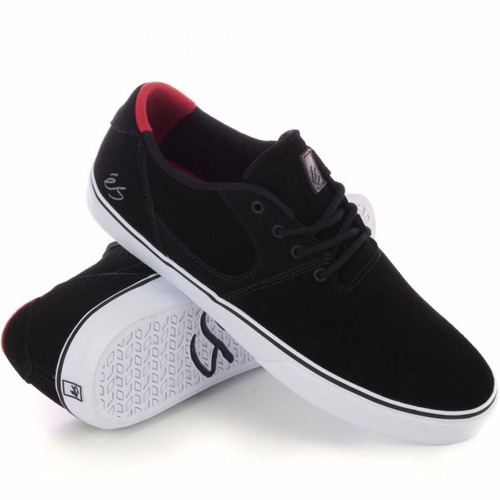 zapatillas es accel sq black/white